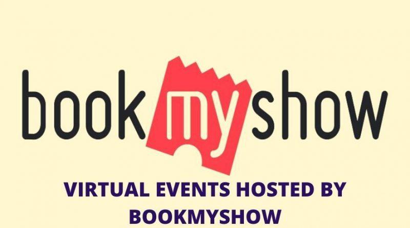 BookMyShow virtual events